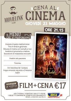 Una cena al cinema: Aladdin