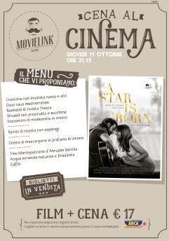 Una cena al cinema: A star is born