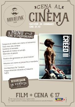 Una cena al cinema: Creed II