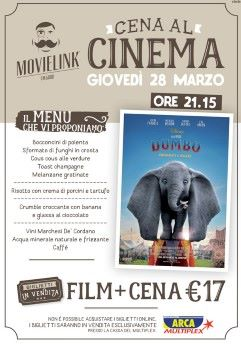 Una cena al cinema: Dumbo