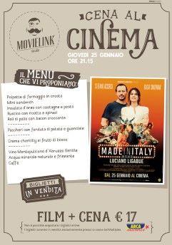 Una cena al cinema: Made in Italy