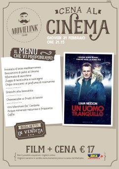 Una cena al cinema: Un uomo tranquillo