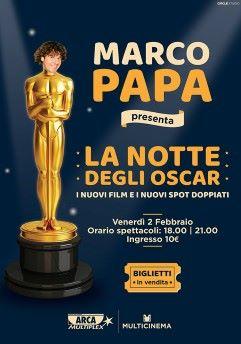 Marco Papa - La notte degli Oscar
